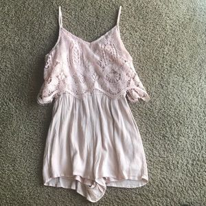 Mossimo Supply Co Pink Romper
